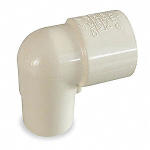"CPVC Street Elbow, 90°, CTS, 3/4"" Pipe Size, CTS Spigot x CTS Hub Connection Type"