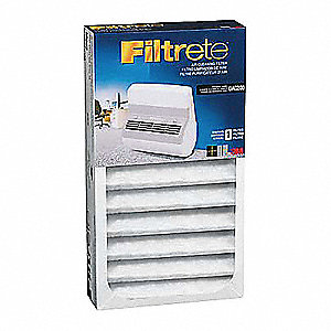 2-1/4x7-1/8x2-1/2 Air Cleaner Filter For Use With 3M(TM) Air Cleaner OAC100, Replace Filter Every 3
