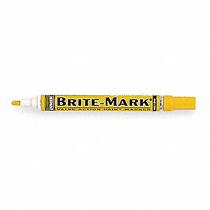 Paint Marker,Brite Mark(R) 916,Yellow