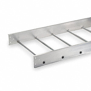Ladder Tray,12 Ft L x 24 In W,100 Lb Cap