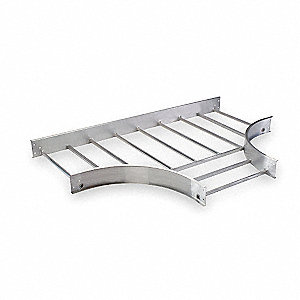 "72""L Horizontal Tee, Aluminum,  Model No. 248-24FT-24"