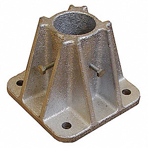 Socket Mounting Base,Single,L 5 In