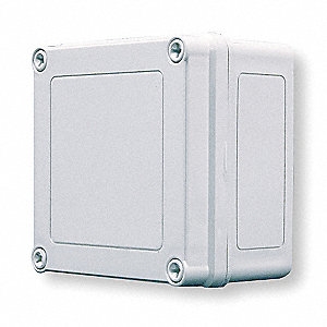 "Valox Crystalline Thermoplasticpolyester Enclosure, 5.03"" Height, 5.03"" Width, 4.02"" Depth"