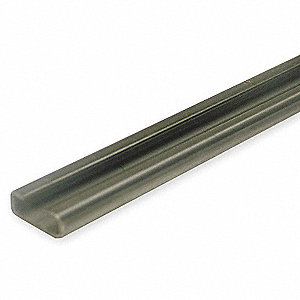 C-Rail,39 In L,Steel