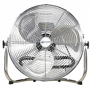 "20"" Commercial Floor Non-Oscillating Air Circulator"