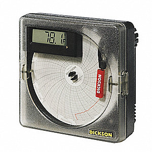 Recorder,Temp,4 In,-22 to 122 F,Display