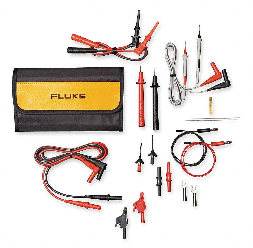 Fluke Test Instruments : Fluke ft quot modular test lead kit cat iii v