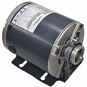 1/3 HP Split-Phase Carbonator Pump Motor, 1725 Nameplate RPM, 240 Voltage, 48Y Frame