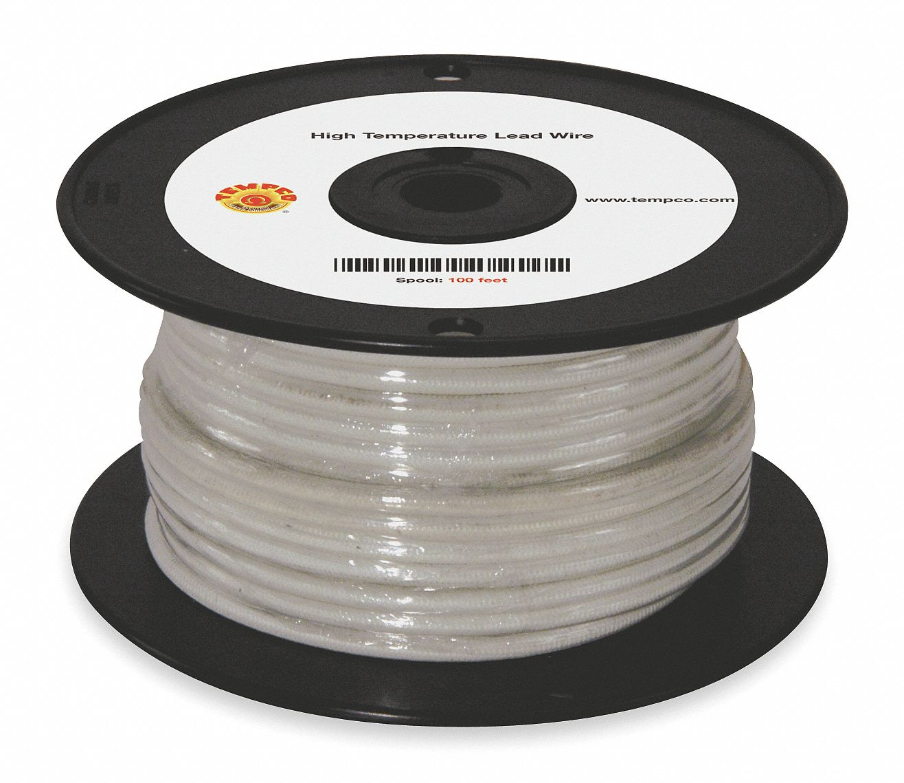 Tempco 100 Ft 600vac High Temperature Lead Wire With