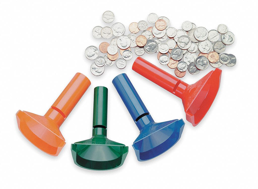 mmf industries coin counting tubes