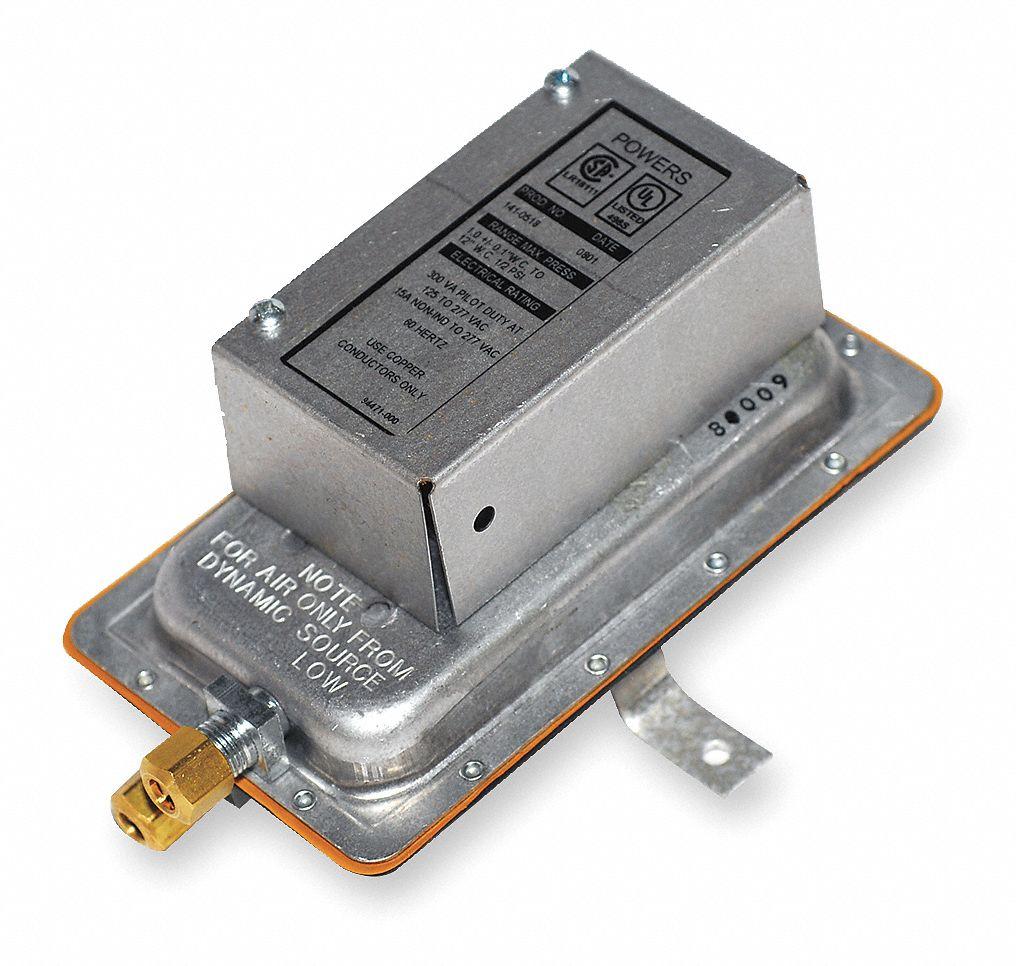 Siemens airflow switch auto reset spdt kgr