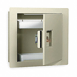Wall Safe,Keyable,475 Cu-In