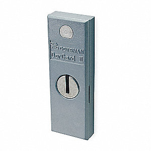 High Security Door Guard,4-1/2x1-1/2 In.