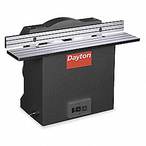 "1/3 HP Bench Edge Grinder, 110 Voltage, 1 Phase, 9 Amps, 4"" Wheel Dia."