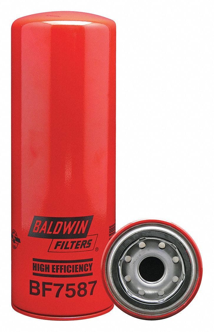 baldwin fuel filters baldwin filters fuel filter, spin-on filter design - 2kxp6 ... #7
