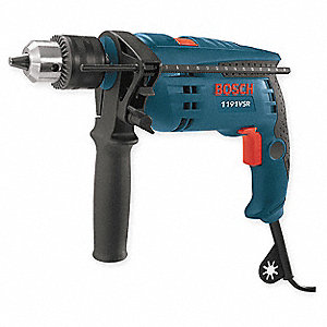Corded Hammer Drill Kit,1/2 In,7 A,120 V