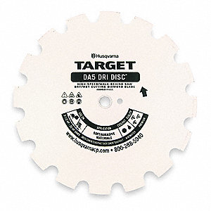 "16"" Wet/Dry Diamond Saw Blade, Segmented Rim Type"