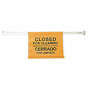 Closed for Cleaning/Cerrado Por Limpieza Sign