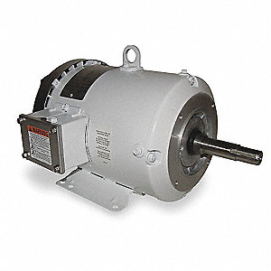7-1/2 HP Washdown Motor,3-Phase,3450 Nameplate RPM,208-230/460 Voltage,Frame 184JM