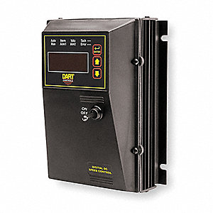 DC Speed Control,NEMA 4X,0 to 90/180VDC Voltage Output,10 Max. Amps