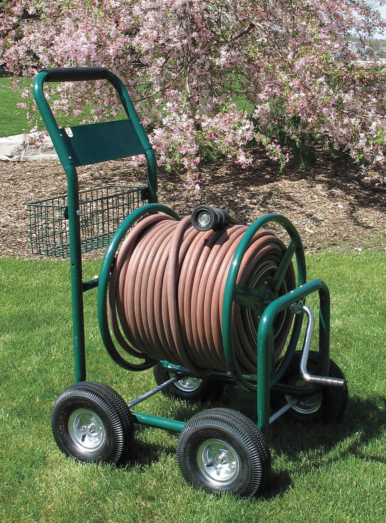 Liberty Portable Hose Cart Steel 17 In Dia 2lrk8 2lrk8 Grainger