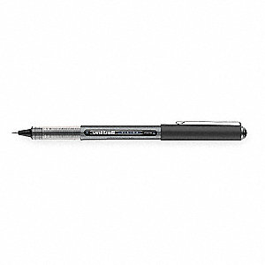 Stick Rollerball Pen, 0.5 mm Point Size, Black Ink Color