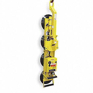 Single Channel Lifter, Manual 180° Rotation/90° Tilt, Max. Lift Load Cap. (Lb.) 700