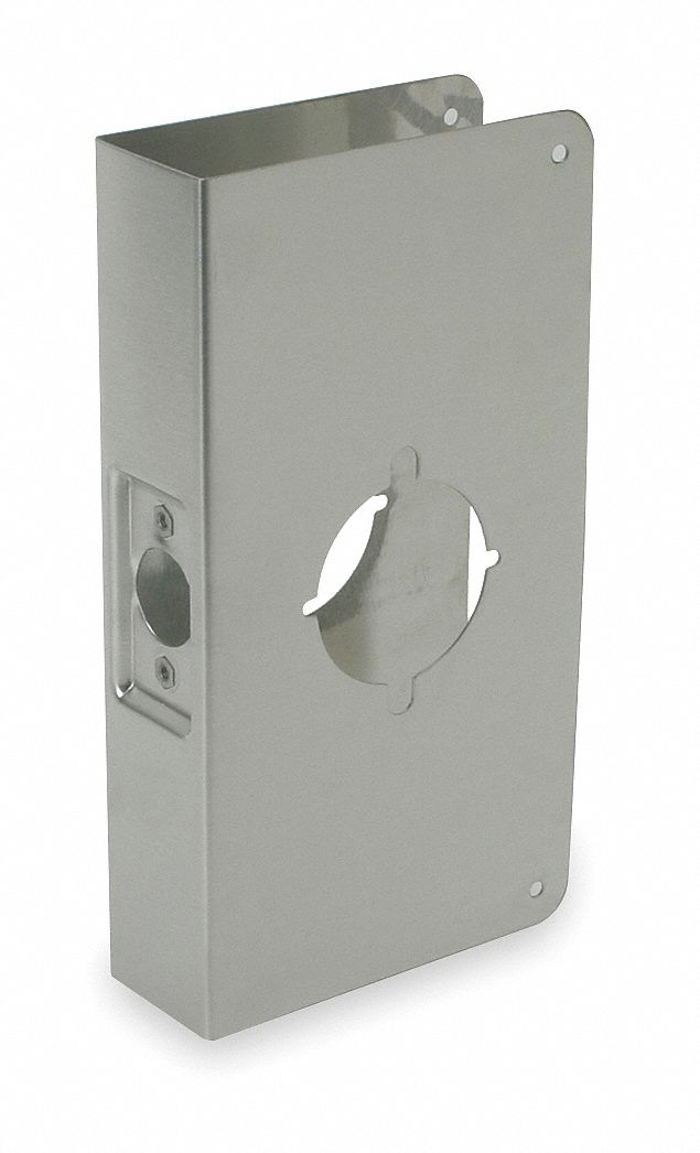 Grainger Approved Door Reinforcer Stainless Steel 1 3 4