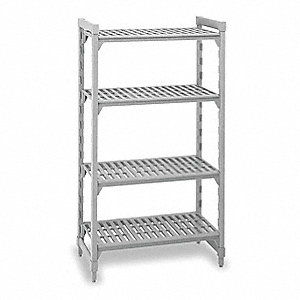 Starter Unit Shelving,72InH,18InW,48InD