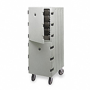 Food Delivery Cart,Boxes,Tamper,Gray