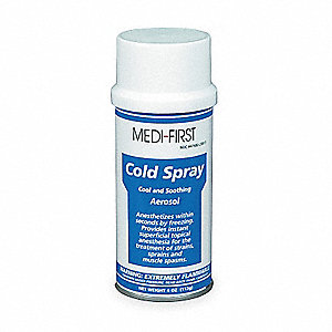 Topical Coolant Spray, Application: Anesthetic, Size: 4 oz., Can Package Type