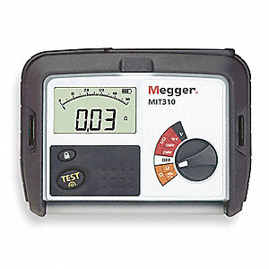 Battery Operated Megohmmeter,250/1000VDC
