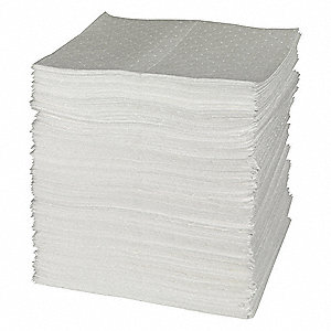 Absorbent Pads,15 In. W,40 gal.,PK200