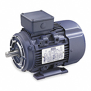 1/3 HP Metric Motor,3-Phase,1705 Nameplate RPM,230/460 Voltage,Frame D71C