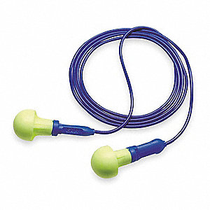 Ear Plugs,28dB,Corded,Univ,PK500