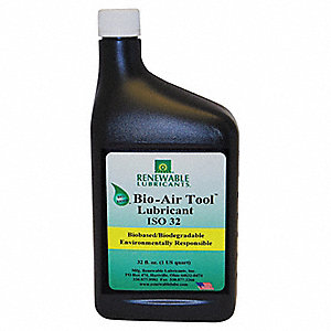 Air Tool Lubricant, 32 oz. Bottle