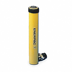 "10 tons Single Acting Spring Return Steel Hydraulic Cylinder, 12"" Stroke Length"