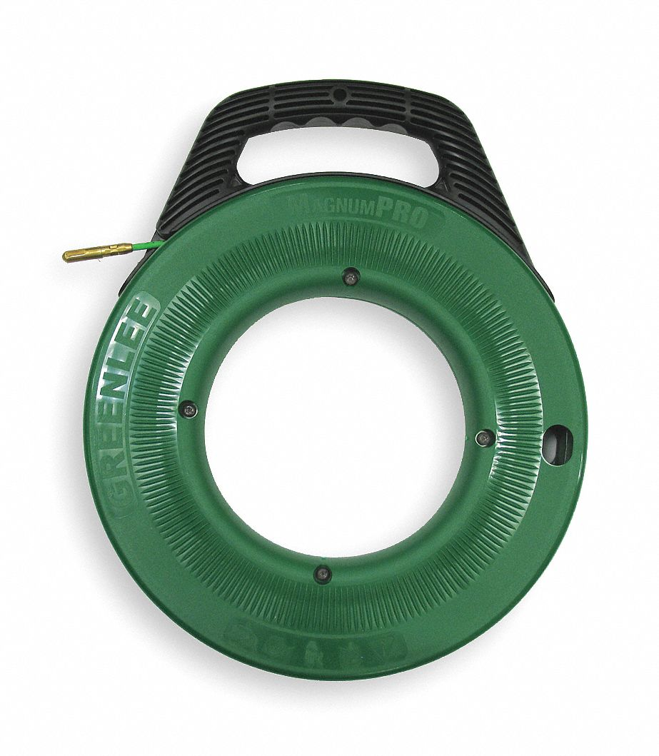 Greenlee 100 ft fish tape fiberglass 3 16 tape size for What is fish tape