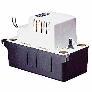 115V Vertical 1/30 HP Condensate Pump, 1.5 Amps, 8.6 psi
