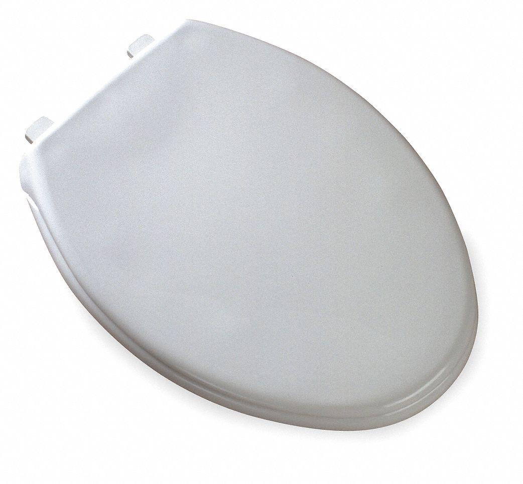 Bemis Commercial Heavy Duty Plastic Toilet Seat Elongated