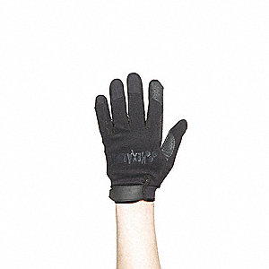 Police Glove,XL,Black,EA