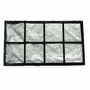 AirCare Filter,10-1/2 H x 18 W x 1 D
