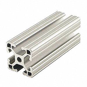 Extrusion,T-Slotted,15S,72 In L,1.5 In W