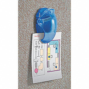 "Assorted Cubicle Wall Panel Clip, 1""W Size"