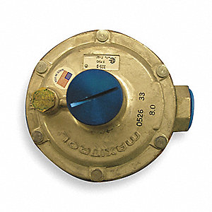 Line Regulator,LP Gas,Tube Size 3/4 In