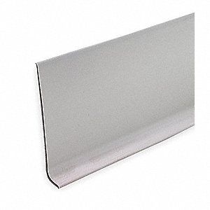 Wall Base Molding,  Gray, 720 In. L