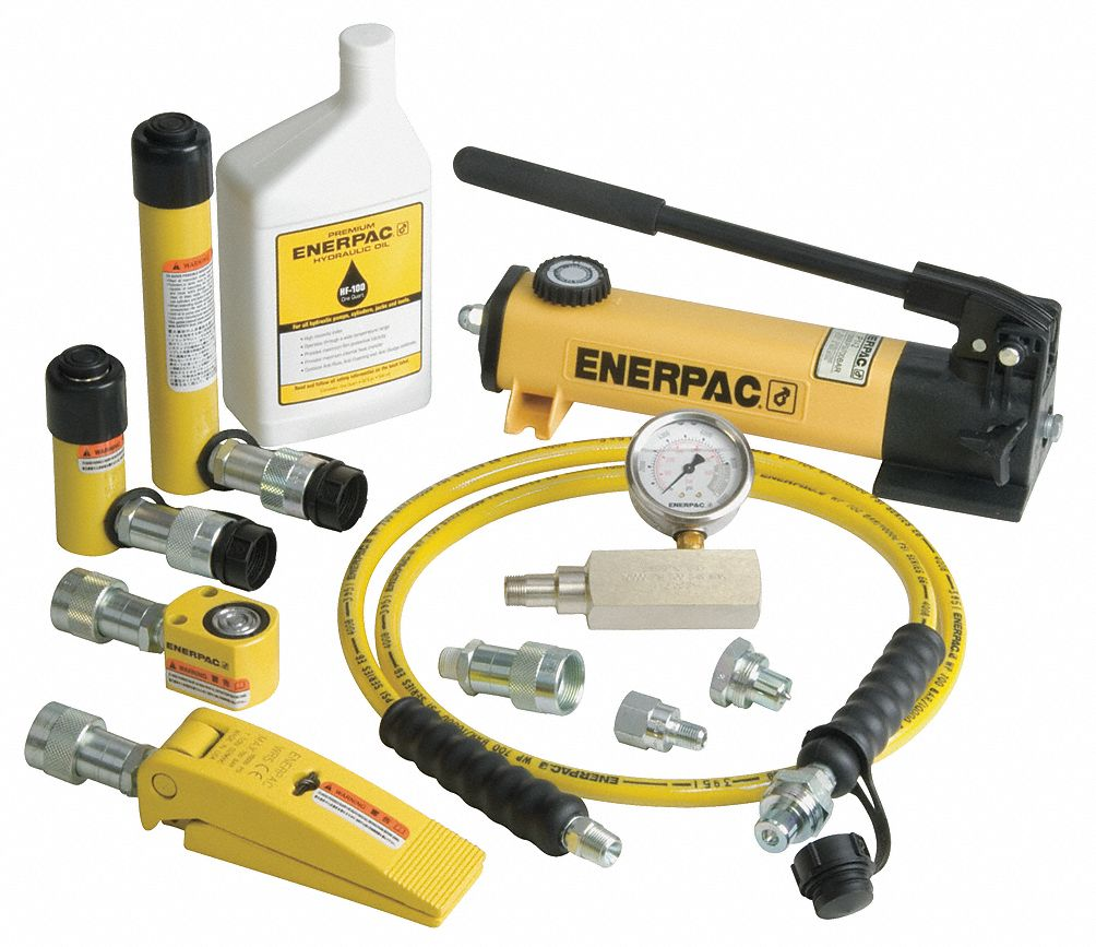 Enerpac Hydraulic Lifting Set 5 Ton Tonnage Capacity 5 8
