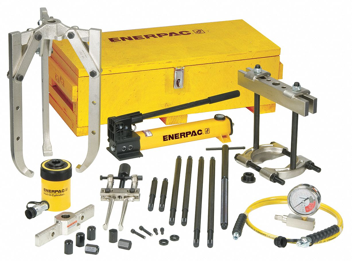 Enerpac Puller Catalog : Enerpac hydraulic puller set t pc rv bhp g