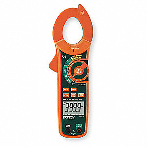 Clamp Meter,60 MOhms,600A