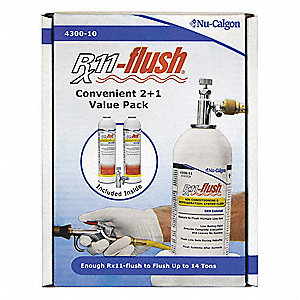 Refrigeration System Flush Kit,(2) 2 lb.